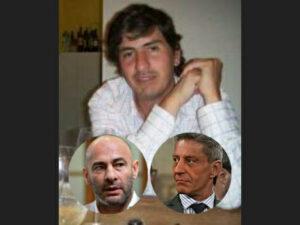 Guillermo Corneo, Federico Massoni y Mariano Arcioni