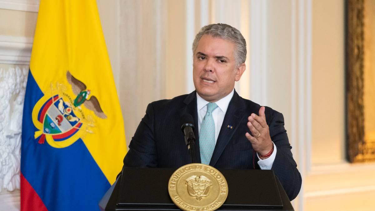 "Duque convoca a un diálogo sin ""diferencias ideológicas"" ante"