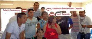 Tero Gomez narcotràfico Chubut